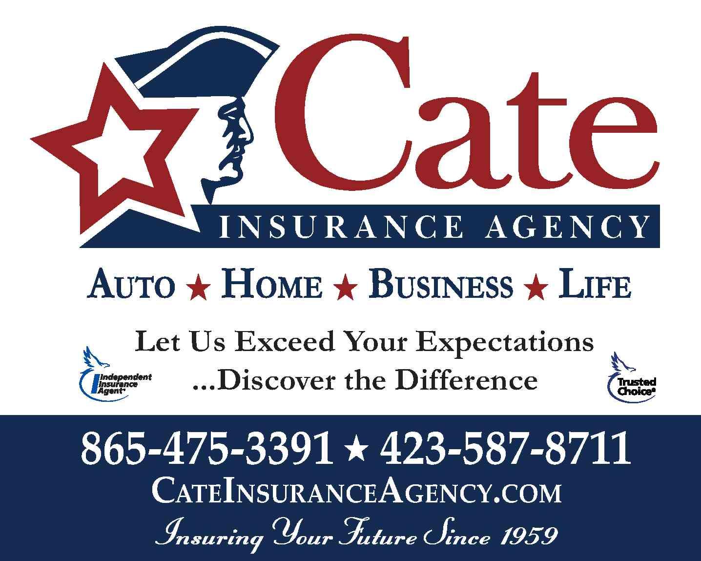 Cate Insurance Agency logo