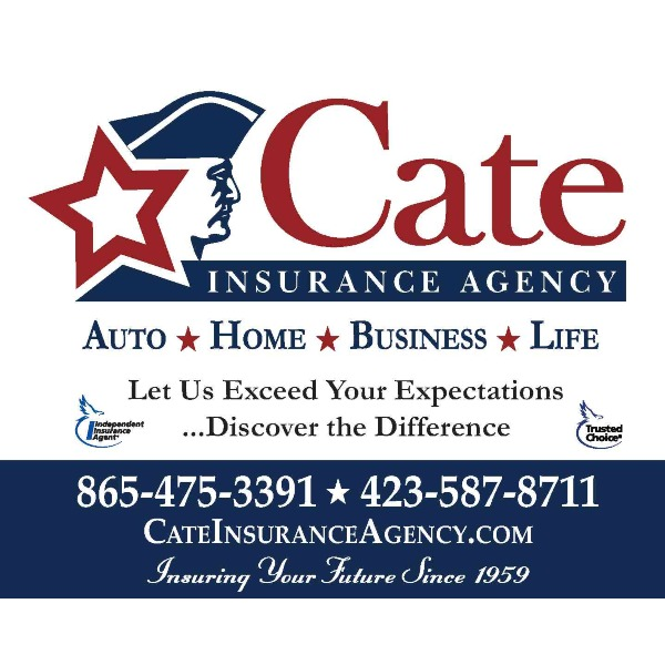 Cate Insurance logo with link to website