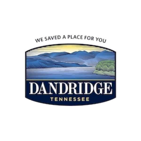 Logo for the Town of Dandridge, TN, in Jefferson County