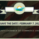 Save the Date image for the Jefferson County Chamber of Commerce annual event on February 7, 2020