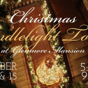 Glenmore Mansion christmas tours graphic