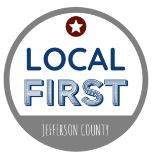 local first jefferson county logo a program by jefferson county chamber of commerce