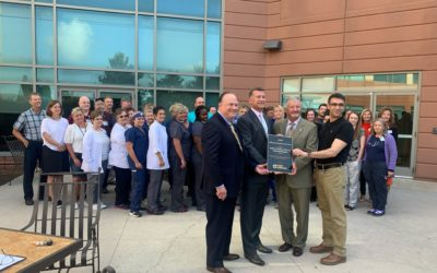 Staff of Tennova Jefferson Memorial Hospital Receives 2021 Jefferson Countian of the Year Award from Jefferson County Chamber of Commerce